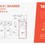 Solo shared 3C - 3 bedroom 3 bathroom