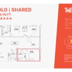 Solo shared 3E - 3 bedroom 3 bathroom