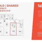 Solo shared 4C - 4 bedroom 4 bathroom
