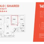 Solo shared 4D - 4 bedroom 2 bathroom