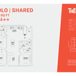 Solo Shared 3A - 3 bedrooms 2 bathrooms
