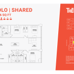 Solo shared 3E - 3 bedrooms 3 bathrooms