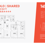 Solo shared 4C - 4 bedrooms 4 bathrooms