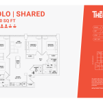 Solo shared 4d - 4 bedrooms 2 bathrooms